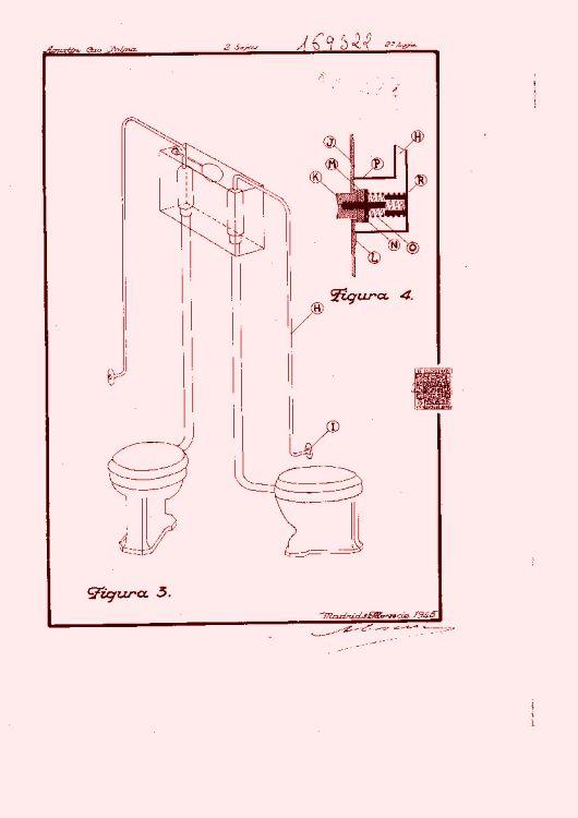Aparato dep sito secreto de funcionamiento bilateral para for Funcionamiento de inodoro