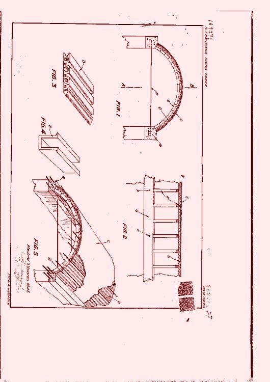 Procedimiento para la construcci n de cubiertas o tejados for Mesas supletorias plegables