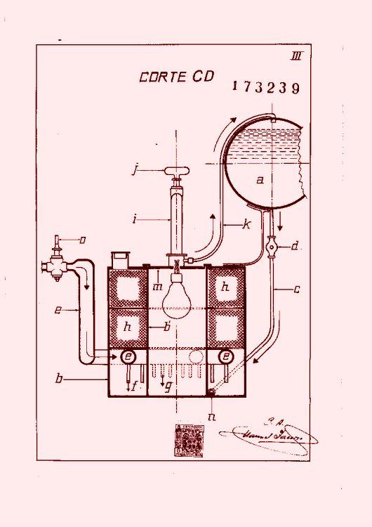 Un aparato para convertir en gas combustible cualquier - Calefaccion electrica o de gas ...