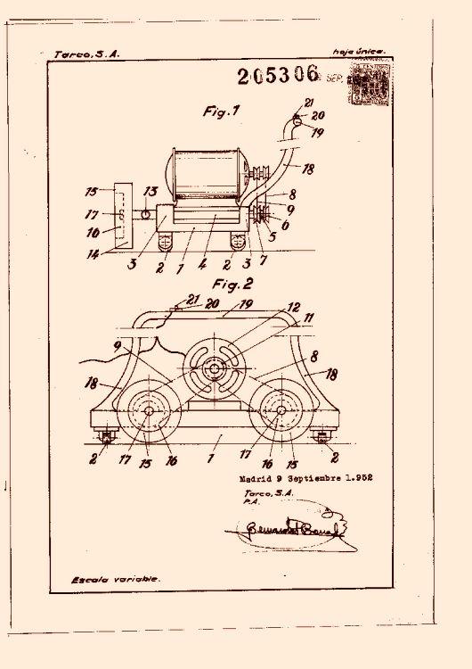 Tarco s a 9 patentes modelos y o dise os for Granito artificial