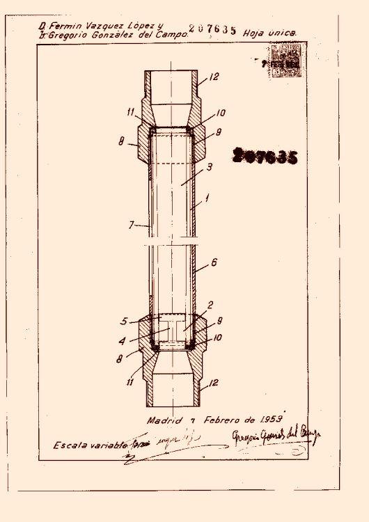 Aparato para la medida del caudal de l quidos en tuber as - Liquidos para desatascar tuberias ...