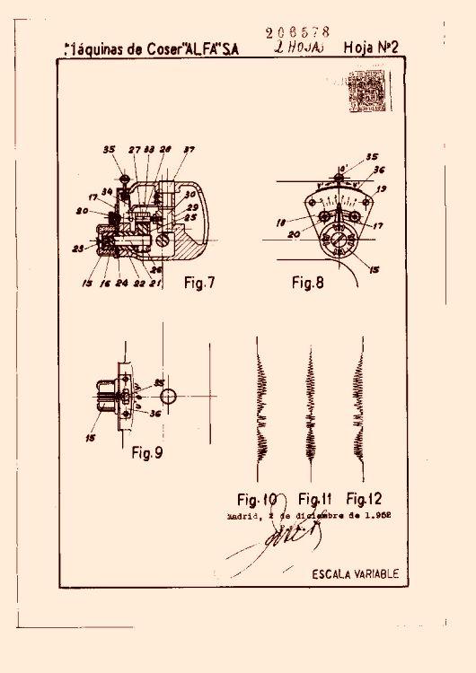 MAQUINAS DE COSER ALFA, S.A. 73 patentes, modelos y/o diseños. (pag. 3)