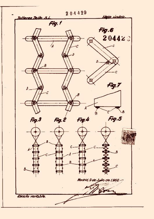 Talleres tello sociedad limitada 13 patentes modelos y o dise os - Sistema persianas enrollables ...