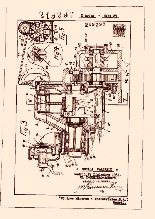 Equipos mineros e industriales s a 8 patentes modelos y for Accionamiento neumatico