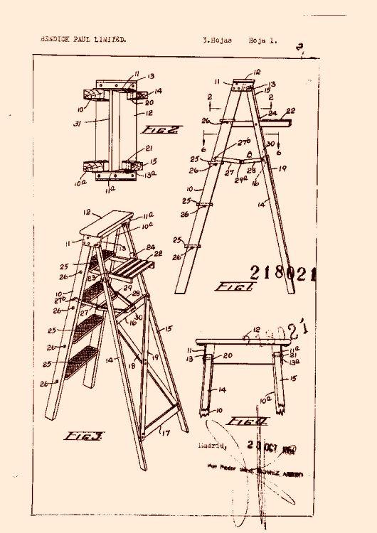 Perfeccionamientos en escaleras de mano autonivelables - Escaleras de mano ...