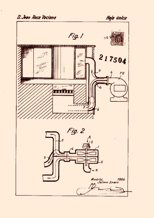 Un sistema de calefacci n por aire caliente - Calefaccion por aire ...