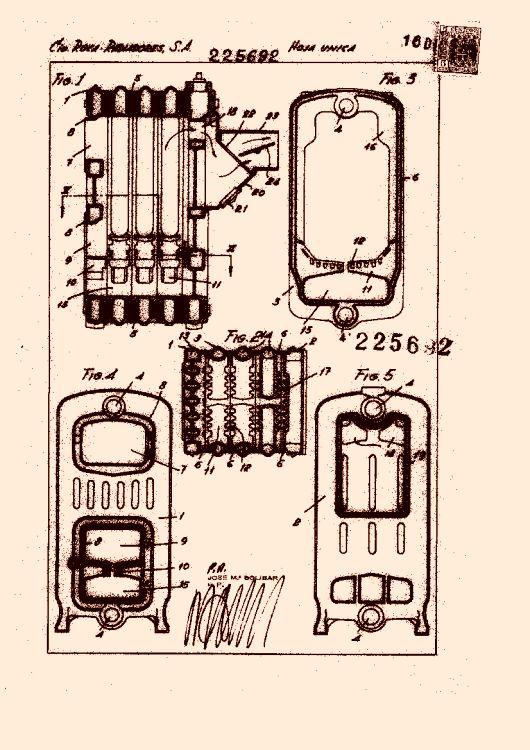 Compa ia roca radiadores s a 257 patentes modelos y o - Caldera de calefaccion ...