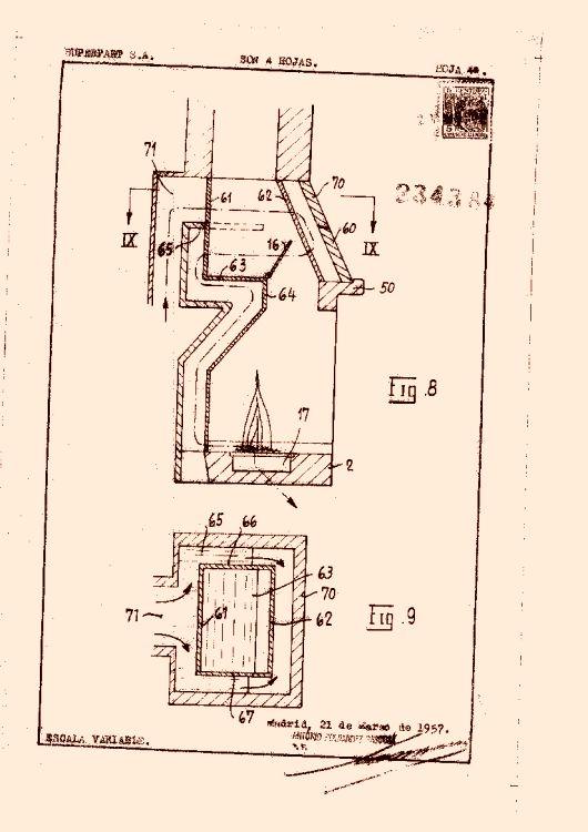 Perfeccionamientos en la construcci n de hogares de chimenea for Construccion de hogares a lena