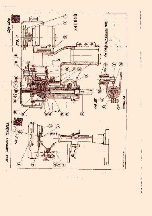 Nuevo taladro de columna 16 de octubre de 1958 - Taladros de columna ...