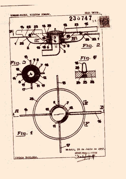 Homann werke wilhelm homann 17 patentes modelos y o dise os for Cacharros cocina