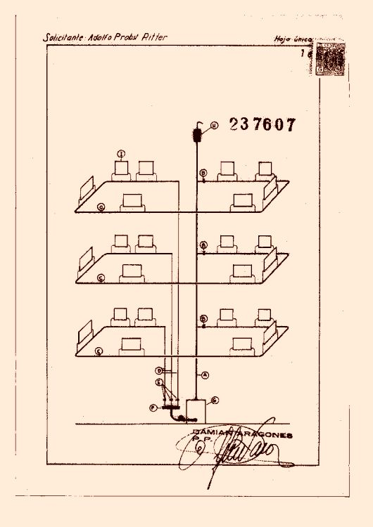 Perfeccionamientos en los sistemas de calefacci n - Sistema de calefaccion por agua ...