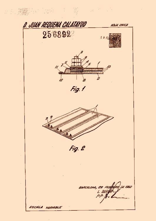 REQUENA CALATAYUD,JUAN. 51 patentes, modelos y/o diseños.
