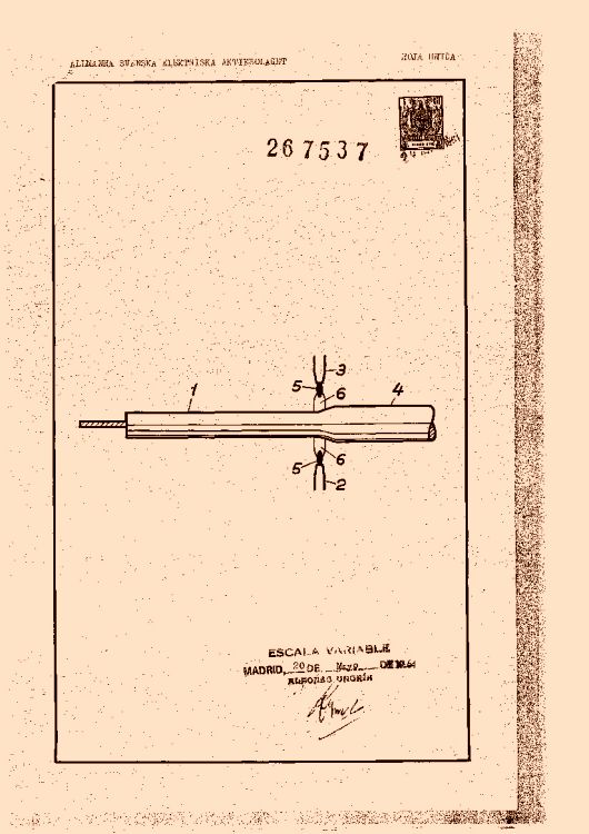 Allm nna svenska electriska a b 9 patentes modelos y o for Clasificacion de alfombras