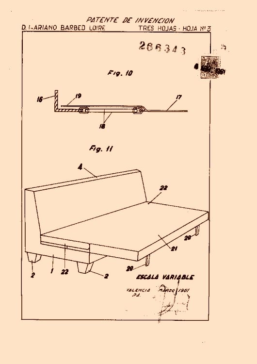 Perfeccionamientos en la fabricaci n de muebles - Muebles barbed zaragoza ...