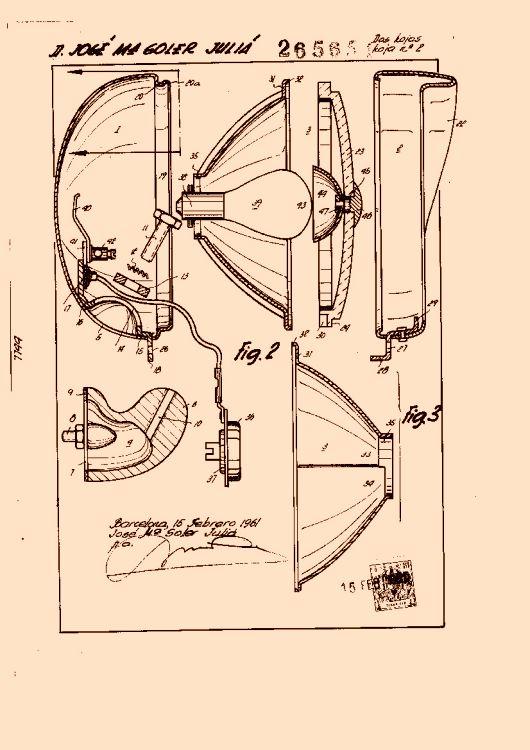 Sistema ptico bifocal para proyectores de luz - Proyectores de luz ...