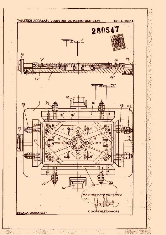 Talleres arrasate cooperativa industrial 10 patentes - Muebles de chapa metalica ...