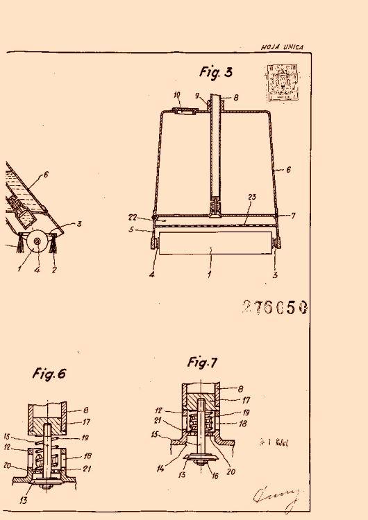 Coll de bacardi antonio 27 patentes modelos y o dise os for Clasificacion de alfombras