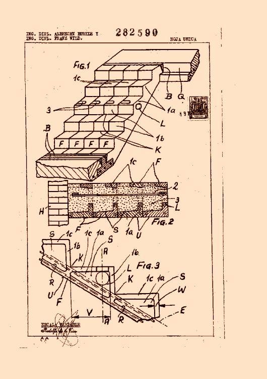 Mejoras introducidas en la construcci n de tiros de for Construccion de una escalera de hormigon