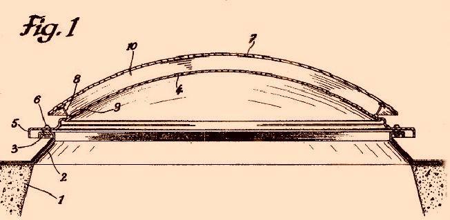 Perfeccionamientos en la construcci n de casquetes de - Tragaluces para tejados ...