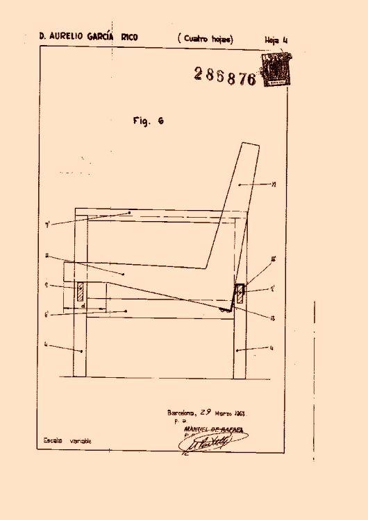 Garcia rico aurelio 14 patentes modelos y o dise os for Muebles transformables