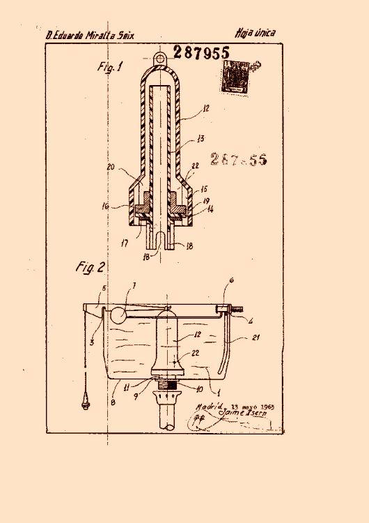 Perfeccionamientos en los mecanismos de maniobra en cisternas - Mecanismo de cisterna ...