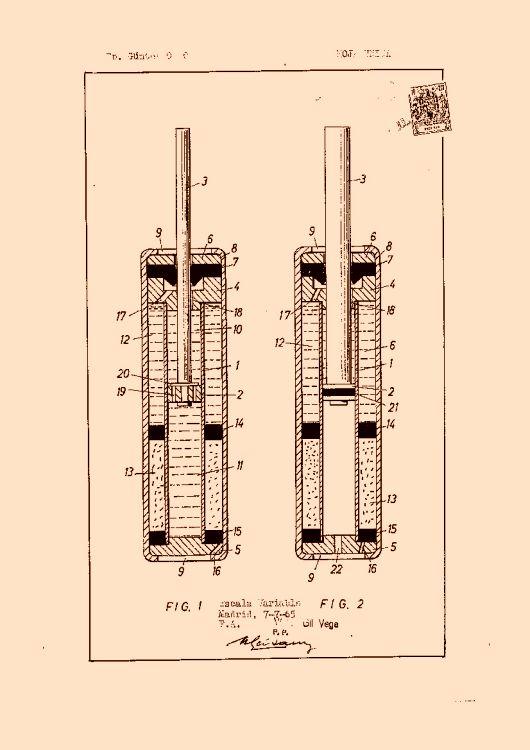 dispositivo de cilindro de piston hidroneumatico