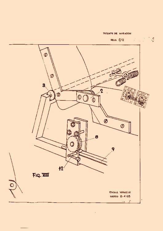 Mecanismo automatico para transformacion de una butaca en for Mecanismo cama abatible