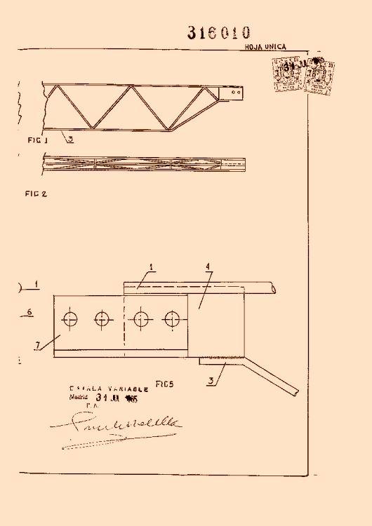 Perfeccionamientos en la construccion de correas metalicas - Cubiertas metalicas ligeras ...