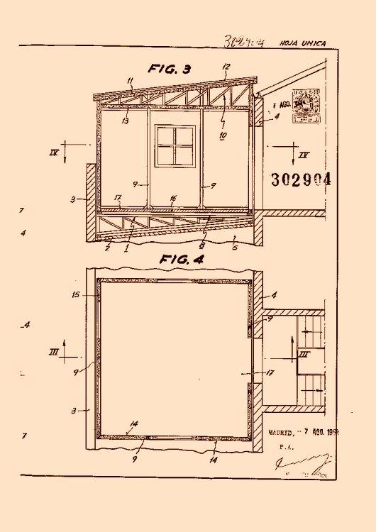Perfeccionamientos en la construccion de viviendas for Mesas supletorias plegables