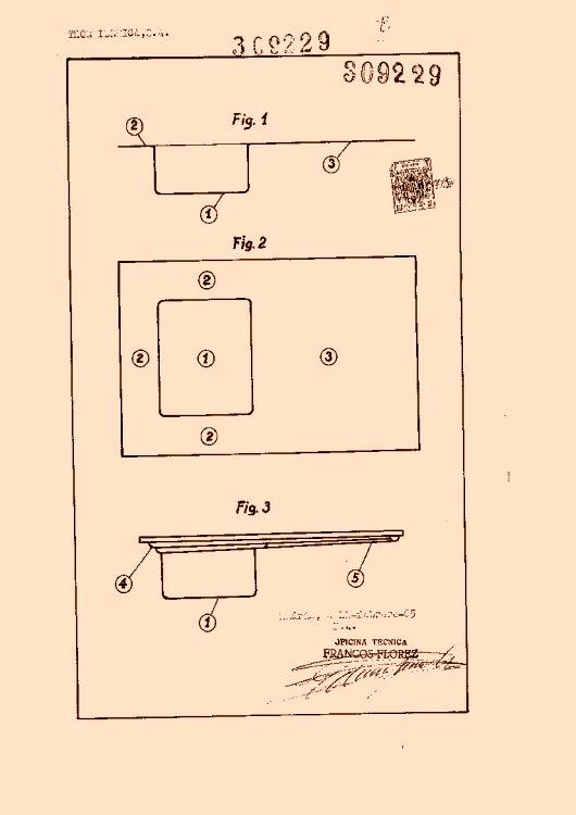 Thor iberica s a 27 patentes modelos y o dise os - Fregaderos thor ...