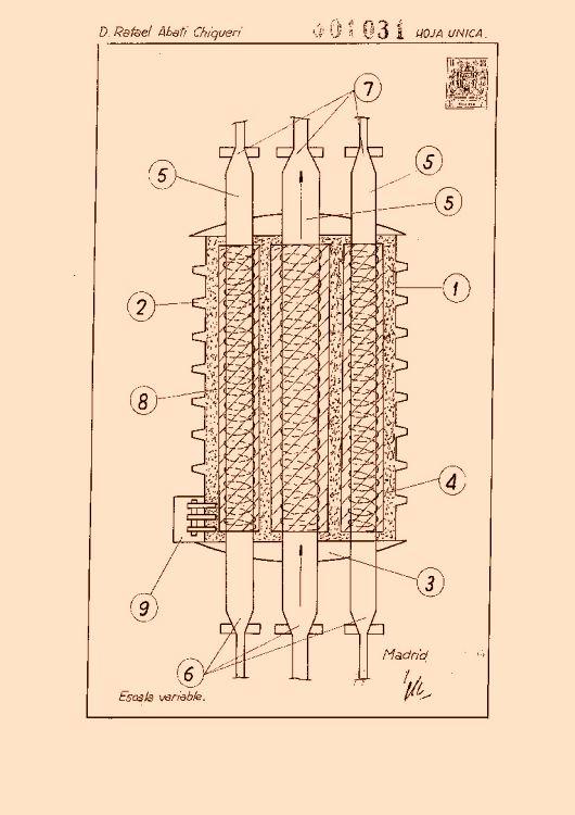 Abati chiqueri rafael 9 patentes modelos y o dise os for Calderas para calefaccion