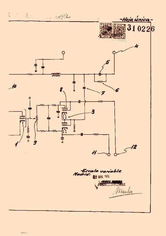 Circuito Oscilador : Sistema de circuito oscilador frecuencia horizontal y