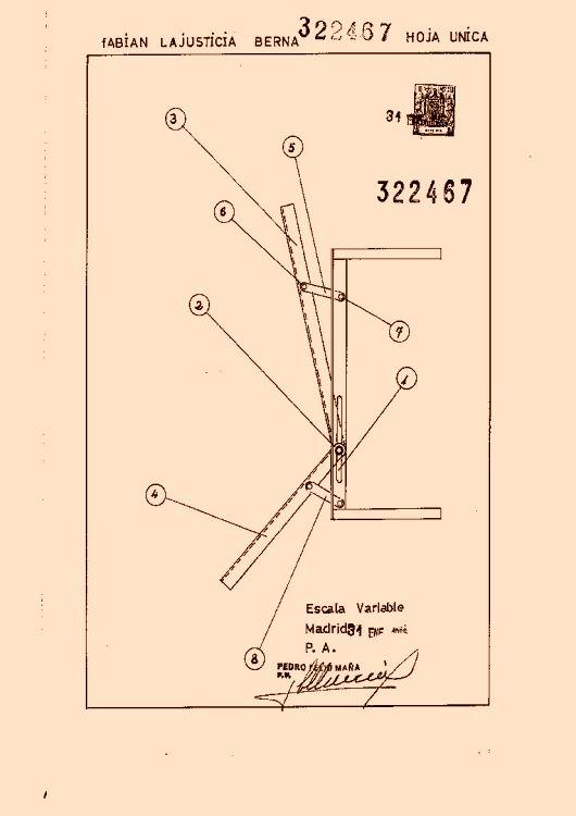 Lajusticia berna fabian 13 patentes modelos y o dise os for Muebles transformables