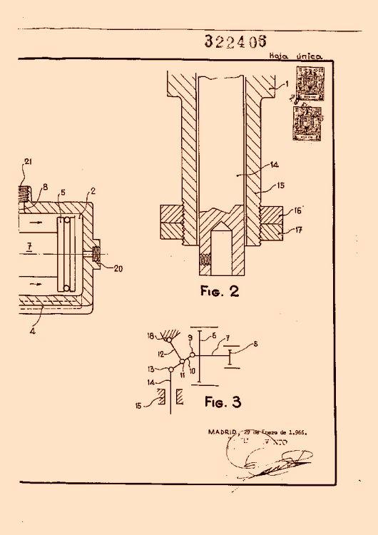 Blanprat hydroair s a 38 patentes modelos y o dise os for Accionamiento neumatico