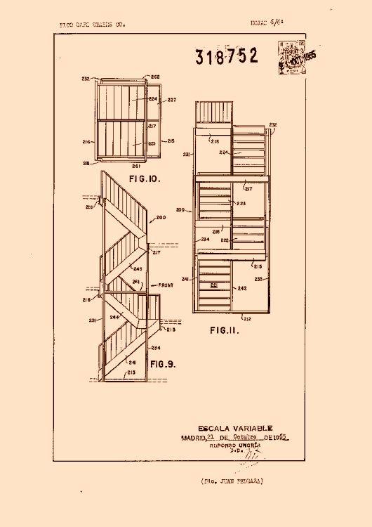 Perfeccionamientos en la construccion de escaleras de for Construccion de escaleras