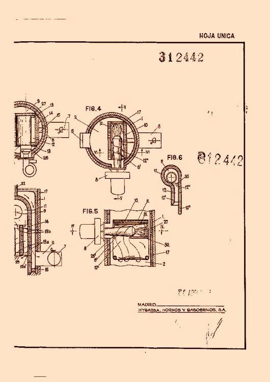Hygassa hornos y gasogenos s a 6 patentes modelos y o - Calefaccion central electrica ...