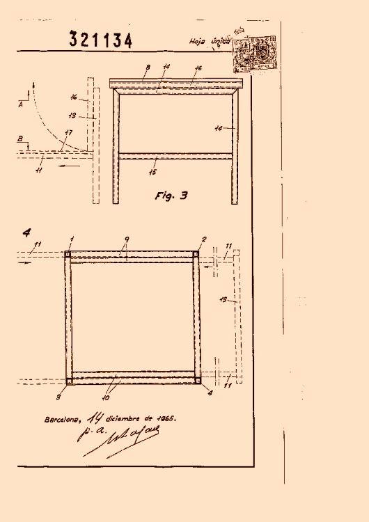 Gomariz lozano bartolome 6 patentes modelos y o dise os for Muebles transformables