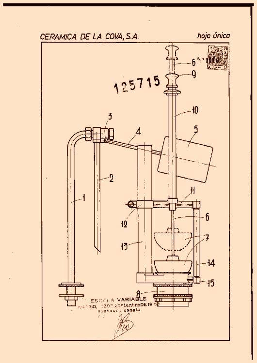 Mecanismo de descarga para cisternas de inodoros 3 - Mecanismo de cisterna ...