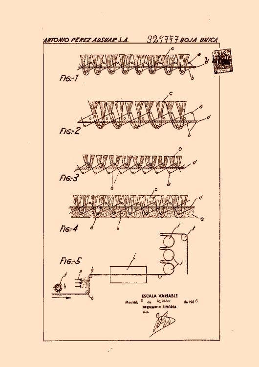 Antonio perez adsuar s a 6 patentes modelos y o dise os for Clasificacion de alfombras