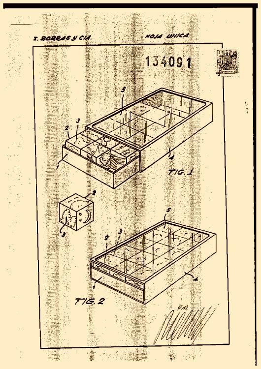 Caja para rompecabezas 1 de agosto de 1968 - Caja rompecabezas ...