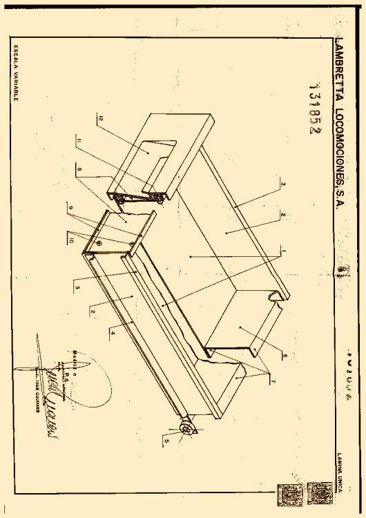 Cajon simplificado para muebles metalicos for Silla escalera plegable planos