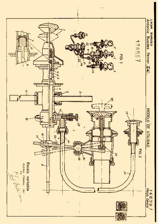 Casa buades antonio buades ferrer s a 15 patentes for Buades griferia