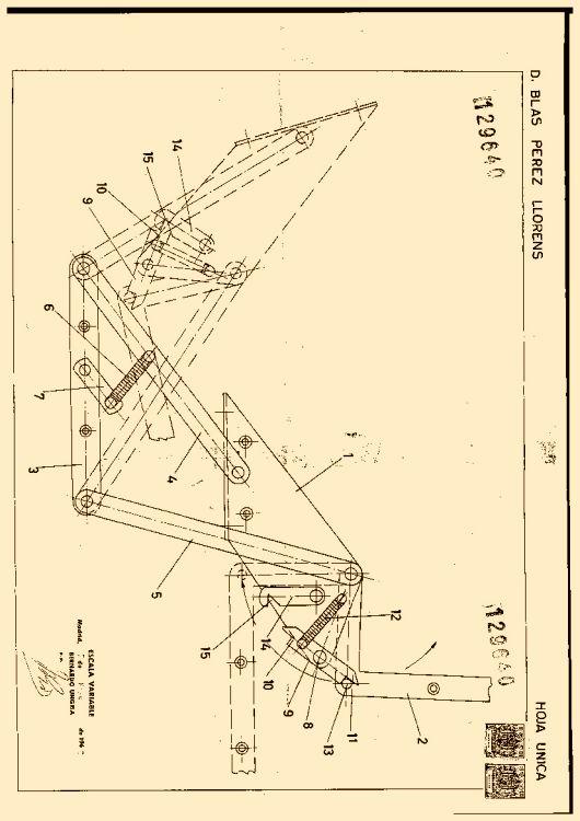 Mecanismo de articulacion para muebles convertibles de cama for Muebles convertibles en cama