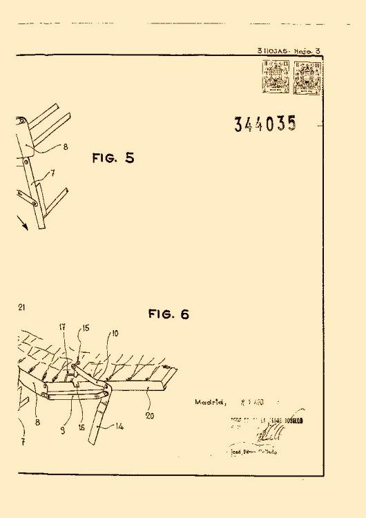 Con un pivote entre la silla y el respaldo para inclinar o - Muebles llamazares ...