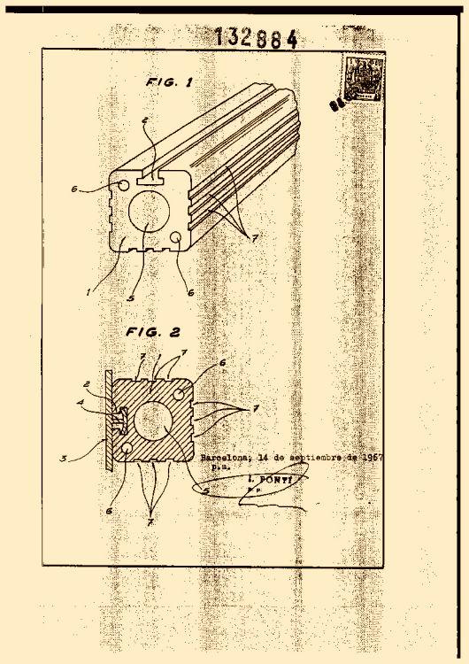 SOPORTE PARA CONDUCTORES ELECTRICOS. (1) : Patentados.com