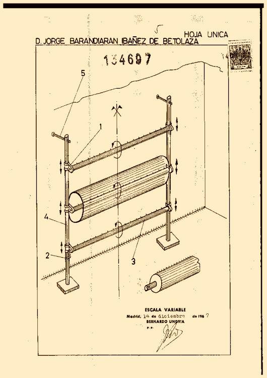 Barandiaran iba ez de betolaza jorge 7 patentes modelos for Clasificacion de alfombras
