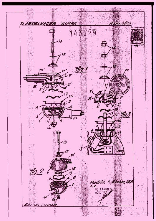 ARTICULACION ROTATIVA PARA CONEXIONES ELECTRICAS.