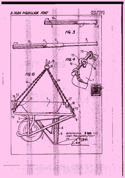 Carretilla de mano para la construccion for Carretilla dos ruedas mano