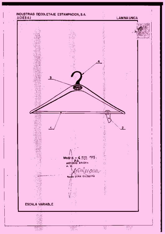 Colgador para ropa 2 1 de diciembre de 1969 for Colgador ropa pared