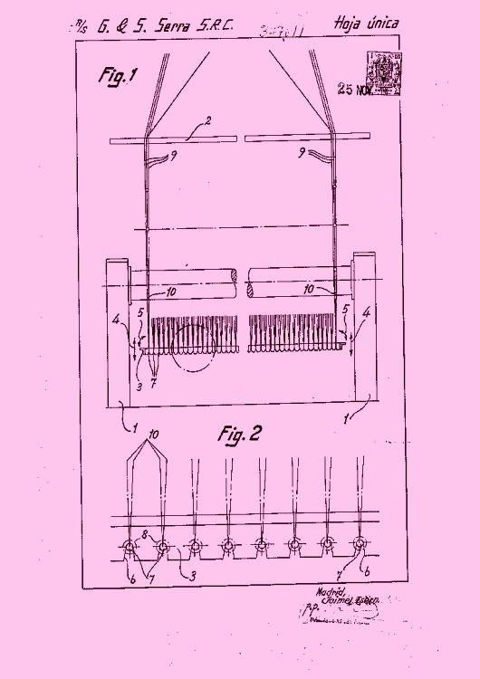 Disposicion de los muelles de traccion unidos a las mallas - Muelles de traccion ...